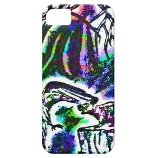 Raven feeding a Rat On a Cold Winter Day iPhone 5 Cases