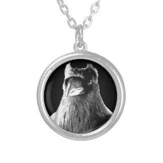 Raven Necklace Wildlife Gifts Raven Bird Jewelry