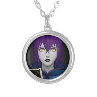 Raven Realistic Mage Round Pendant Necklace