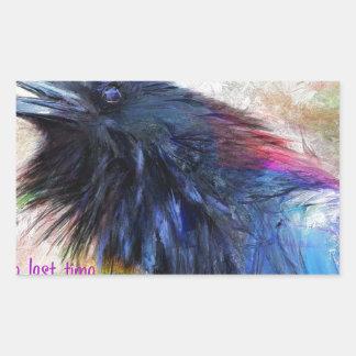 Raven Rectangular Sticker
