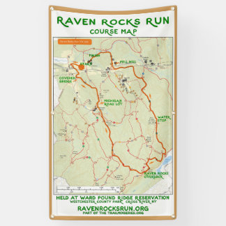 Raven Rocks Run Map Banner