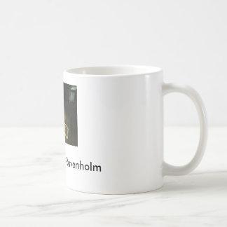 raven, We don't go to Ravenholm Basic White Mug