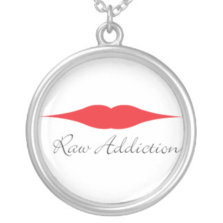 Raw Addiction Japanese Restaurant 06 Silver Plated Necklace