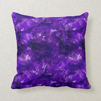 Raw Amethyst Cushion