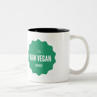 Raw Vegan Activist Mug Activism Quote Stylish