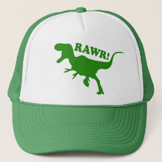RAWR is how Dinosaurs say I love you Trucker Hat