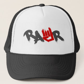 Rawr Logo - Emo, goth, alternative, rock, grunge Trucker Hat