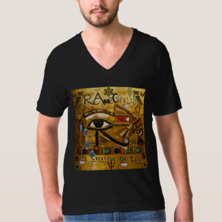 RawzChyld Amen Ra V-Neck T-Shirt