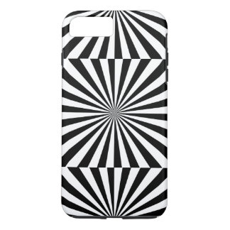 RAYS transparent (a black & white design) ~ iPhone 8 Plus/7 Plus Case
