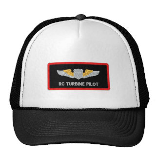 RC turbine jet pilot hat
