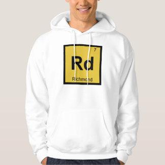 Rd - Richmond Virginia Chemistry Periodic Table Hoodie