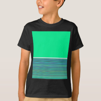Re-Created Color Field & Stripes by Robert S. Lee T-Shirt