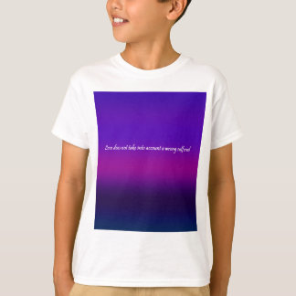 Re-Created Color Field with LOVE by Robert S. Lee T-Shirt
