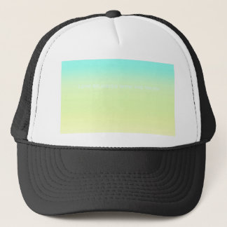 Re-Created Color Field with LOVE by Robert S. Lee Trucker Hat