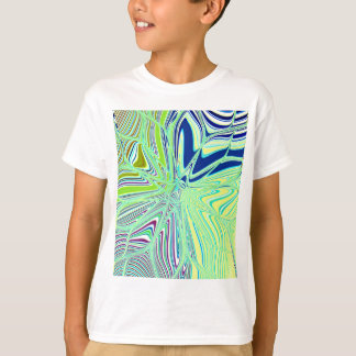 Re-Created Flower by Robert S. Lee T-Shirt