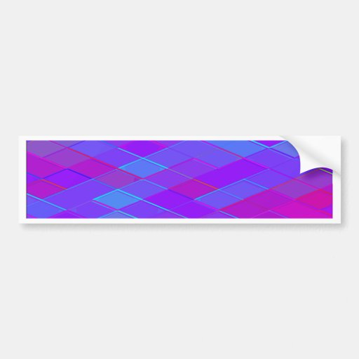 Re-Created Vertices Bumper Stickers