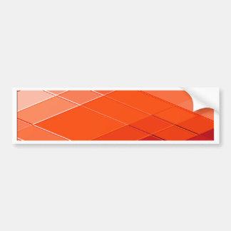 Re-Created Vertices Bumper Sticker