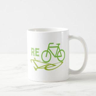 Re-Cycle Bike design Coffee Mug