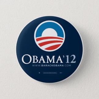 Re-Elect President Barack Obama 2012 6 Cm Round Badge