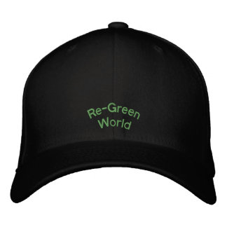 Re-Green World Embroidered Hat