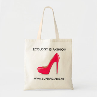 Re-usable ecological stock market fashion budget tote bag