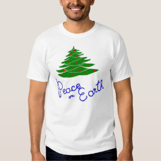 Reace on Earth T-shirts