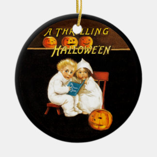 Read a Scary Story Christmas Ornament