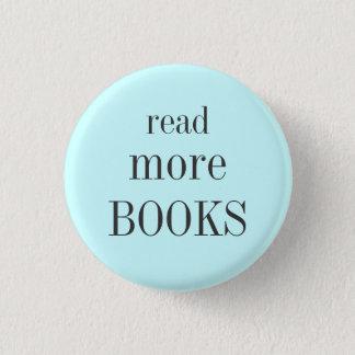 Read More Books 3 Cm Round Badge