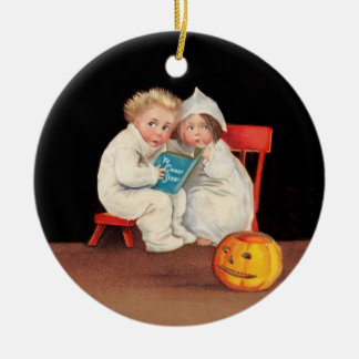 Read Scary Story Christmas Ornament