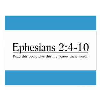 Read the Bible Ephesians 2:4-10 Postcard