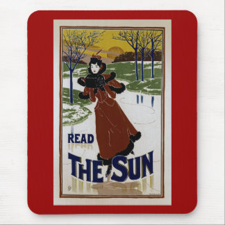 Read The Sun Mouse Pad