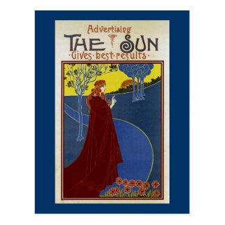 Read The Sun Postcard