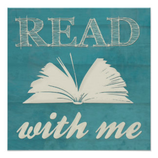 """""""Read With Me"""" Print"""