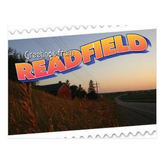 Readfield, Wisconsin farm Postcard