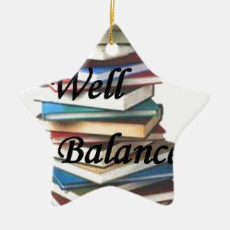 Reading Books Life Christmas Ornament