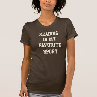 Reading is my Favorite Sport Tee