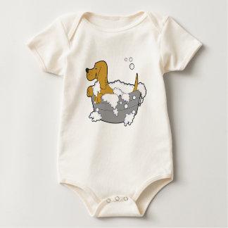 Ready For Bath - Organic Baby Bodysuit