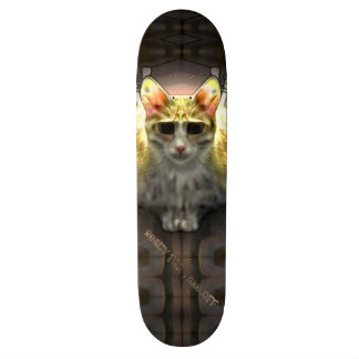 Ready for take off Cool Cat1 Skateboard