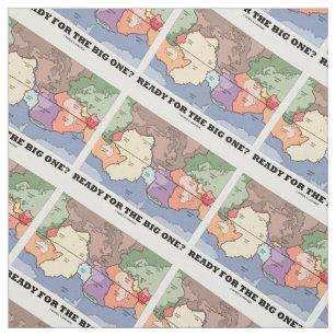World map fabric zazzle plate tectonics world map fabric gumiabroncs Image collections