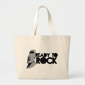 READY TO ROCK! LARGE TOTE BAG