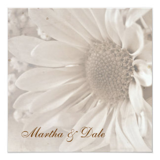 Reaffirmation of Vows daisy invitation