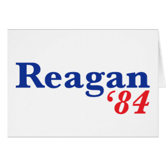 Reagan '84 card