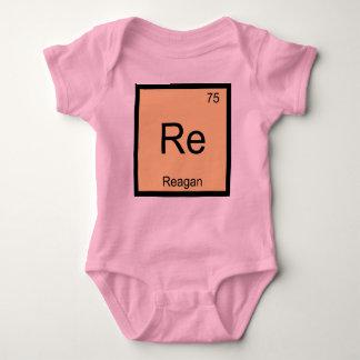 Reagan Name Chemistry Element Periodic Table Baby Bodysuit