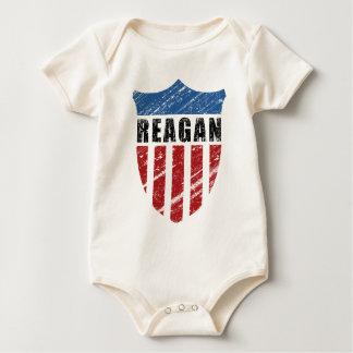 Reagan Patriot Shield Baby Bodysuit