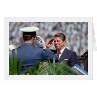 Reagan Salute Card