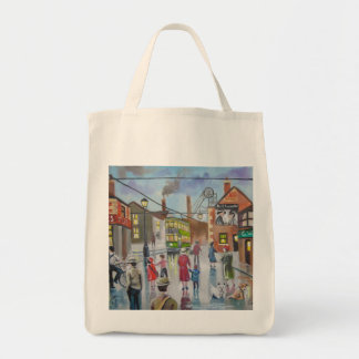 Real Ales Pub oil painting Gordon Bruce Tote Bags