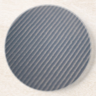Real Carbon Fiber Photo Texture Coaster