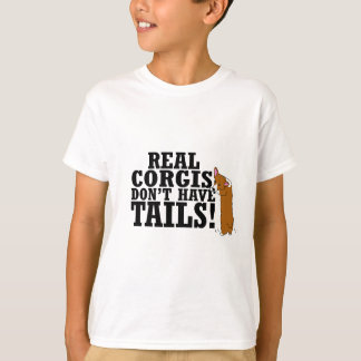 Real Corgis Don't Have Tails Child's T-Shirt