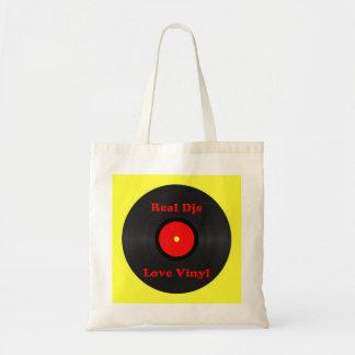 Real Djs Love Vinyl Bag