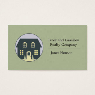 Real Estate Firm Business Card